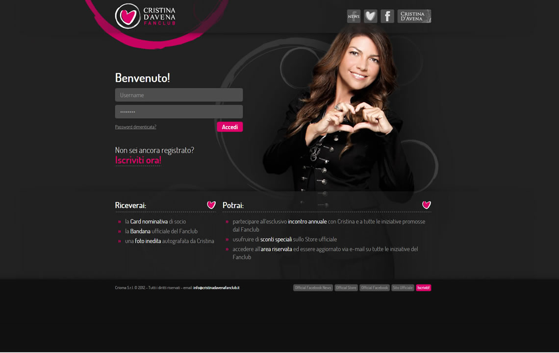 Cristina D'Avena Fan Club